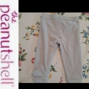 4/$15 Size 9M Baby grey heart leggings